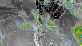 Renovaron el alerta por probables tormentas fuertes y granizo para esta noche