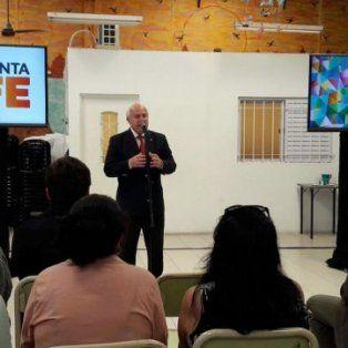 Presentación. Lifschitz durante el anuncio de las nuevas herramientas.