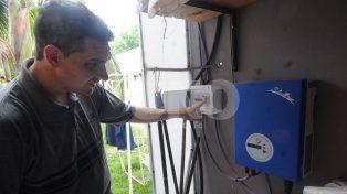 Energías renovables: Santa Fe tiene a su primer prosumidor