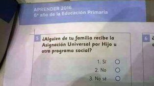 Se filtraron preguntas del operativo Aprender, la evaluación que se tomará a alumnos del país