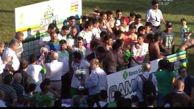Unión de Sunchales se consagró campeón de la Copa Santa Fe
