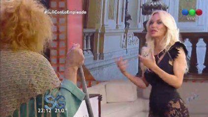 luciana salazar le confeso cuanto pesa a susana gimenez: la polemica exploto en las redes