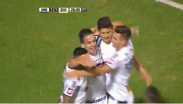 En un partido desparejo, Unión empató 1 a 1 con Quilmes