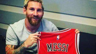 El regalo de Chicago Bulls para Lionel Messi