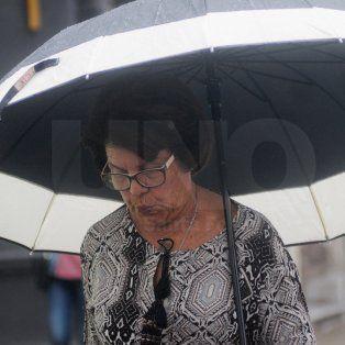 lanzaron un alerta meteorologico por lluvias y tormentas