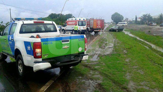 Violento choque en las rutas santafesinas dejó el saldo de un muerto y cuatro heridos