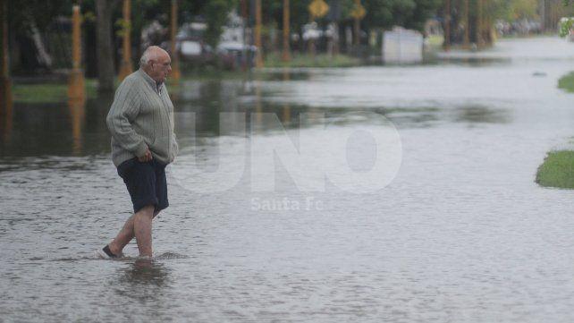 Se renovó el alerta por lluvias fuertes que abarca a la ciudad de Santa Fe