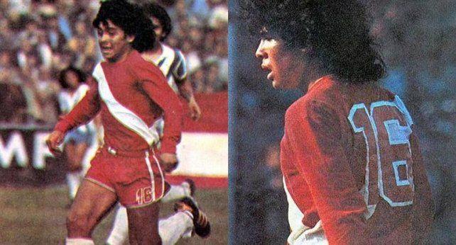 Se cumplen 40 años del debut de Maradona en Primera División