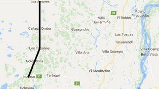 Ruta provincial 3. Es la única vía de comunicación que tienen pequeños pueblos del norte provincial con Intiyaco