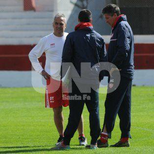 El DT solo dejó de los habituales titulares a Nereo Fernández, Emanuel Britez, Nahuel Zárate y Mauro Pittón.