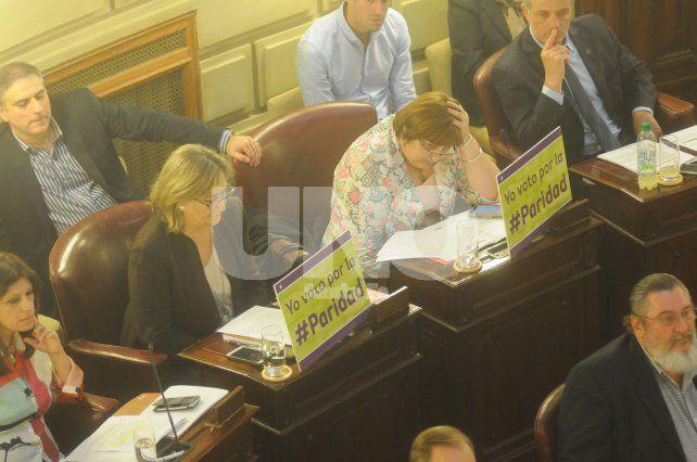 Diputados: media sanción para la ley de paridad de género