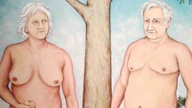 Polémica en Uruguay por un retrato de Mujica