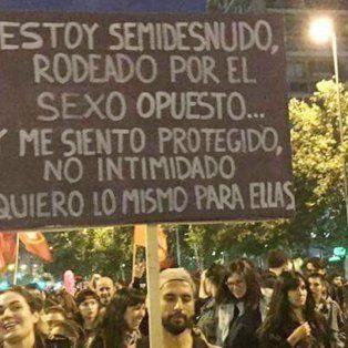 la historia detras del cartel que se volvio viral en la marcha de #niunamenos
