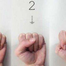 La forma en la que cerrás el puño revela tu personalidad