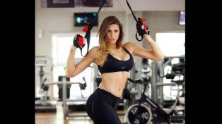 La bellaTamara (Locación: Well Club Gym / Pelo y make up: Jorge Jacome) Fuente: Infobae.