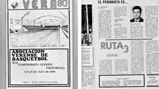 Documento. Una publicación de Vera 80, a mediados de 1980, daba cuenta de la necesidad.