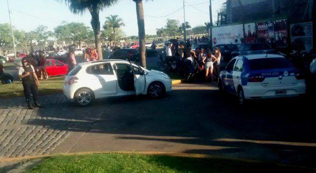 Tras algunos disturbios en el Faro, la policía aprehendió a tres sujetos