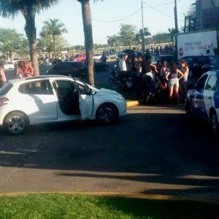 tarde de persecucion policial en la costanera santafesina