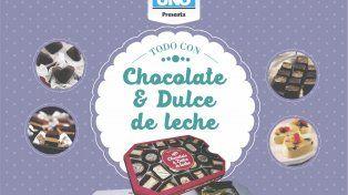 Este lunes pedí opcional Todo con Chocolate y Dulce de Leche