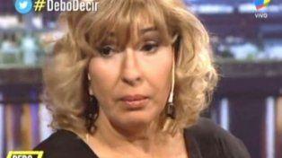 Georgina Barbarossa le envió un mensaje al asesino de su marido