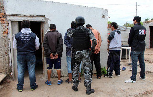 Secuestraron dos kilos de marihuana y detuvieron a 18 personas por venta de drogas