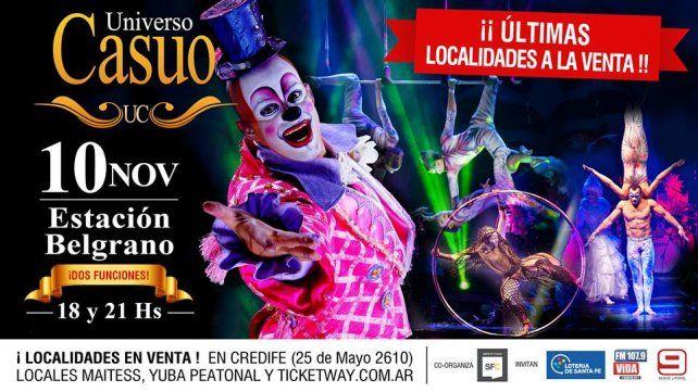 Diario UNO te invita a ver Universo Casuo en Santa Fe