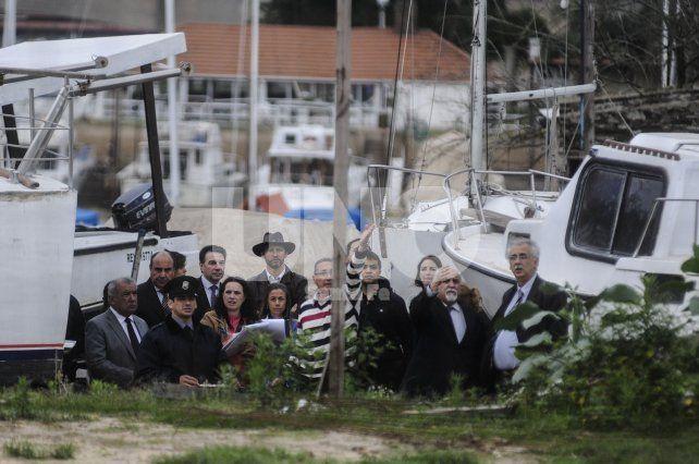 Costa a costa. Las partes verificaron de dónde salieron los disparos desde el distrito costero.