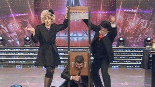 ¡Le quisieron guillotinar la cabeza a Tinelli!