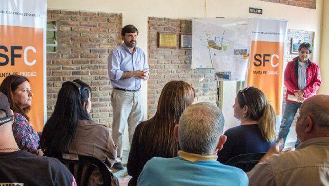 Liceo Norte: primer paso para concretar una nueva etapa de la extensión de la red de gas