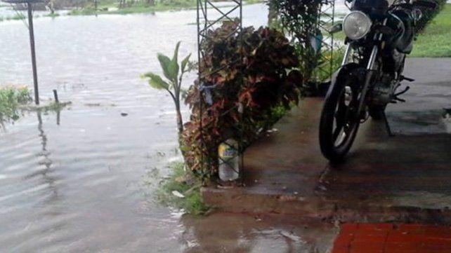 Villa Ocampo: cayeron más de 250 milímetros y hay evacuados