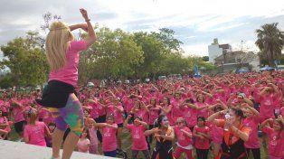 El Parque Federal se vistió de rosa