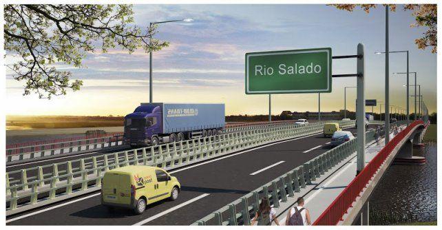 Virtual. La imagen del futuro puente. Hasta ahora
