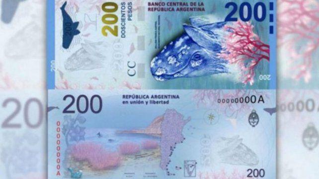 Las medidas de seguridad del billete de 200 pesos para evitar su falsificación