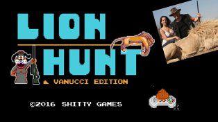 La caza de leones de Vannucci y Garfunkel ya tiene su propio videojuego