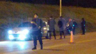 Dos detenidos con arma y balas de guerra durante un control policial
