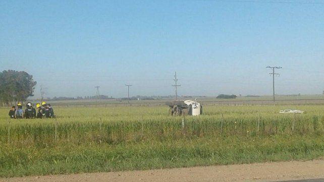 Dos jóvenes murieron en un accidente a la altura de Las Rosas