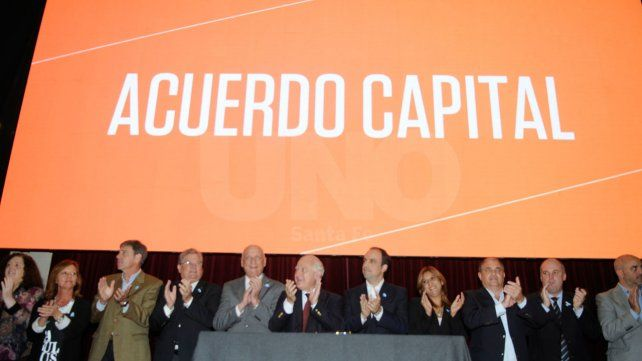 El Gobernador y el Intendente presentan avances del Acuerdo Capital