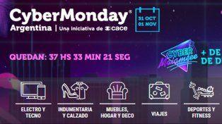 Se largó una nueva edición de CyberMonday con promociones de hasta el 60 por ciento