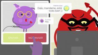 Un video recomienda a los chicos cómo prevenir el ciberacoso por chats y redes sociales