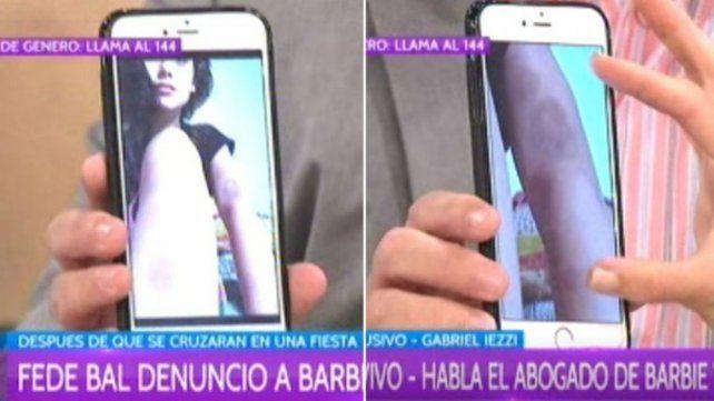 El abogado de Barbie Vélez mostró una foto reveladora en la causa