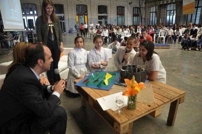 El Consejo de Niños y Niñas le presentó sus propuestas para la ciudad al Intendente