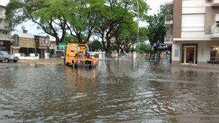 Foto lector. Evelin compartió una imagen de Avenida Freyre y Gobernador Vera