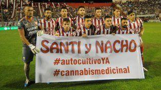 Los jugadores de Unión se sumaron al pedido de la familia de los gemelos de San Carlos
