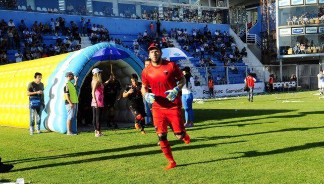 Jorge Broun apura los tiempos de la recuperación con el objetivo de estar presente ante Arsenal.