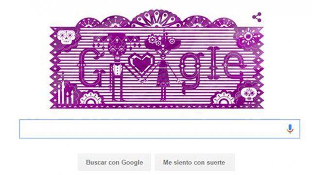 El doodle de Google celebra el Día de los muertos