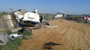 Un choque entre dos camiones dejó como saldo un muerto en el norte de la provincia