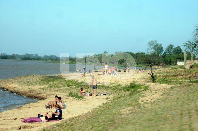 Solarium. En el Paseo de la Laguna solo se podrá disfrutar del sol.