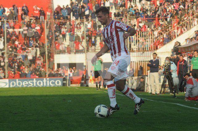 Uno de los puntos fuertes de Bruno Pittón es el traslado de pelota y el desequilibrio en los últimos metros.