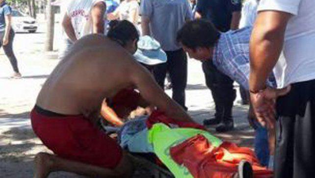 Una chica de 15 años se tiró desde el puente Chaco-Corrientes y fue rescatada milagrosamente
