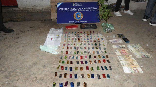 Bº San Agustín II: disparos, detenidos y secuestro de dosis de cocaína y de marihuana en allanamientos